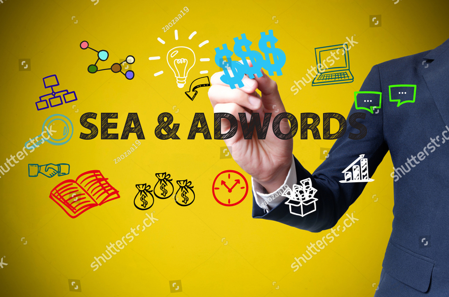 stock-photo-businessman-hand-drawing-and-writing-seo-adwords-on-yellow-background-business-concept-352857473